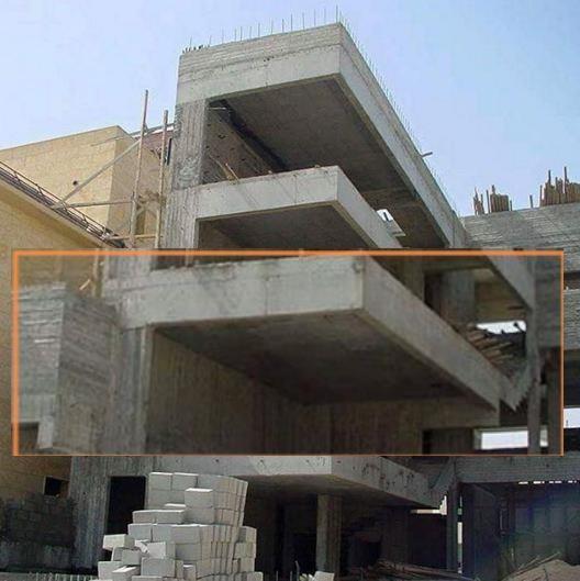 ستون گذاری پلان معماری
